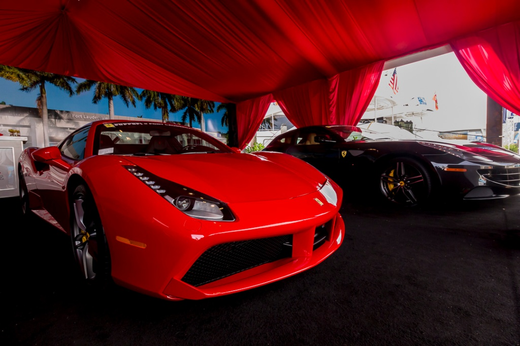Car Show at Fort Lauderdale International Boat Show